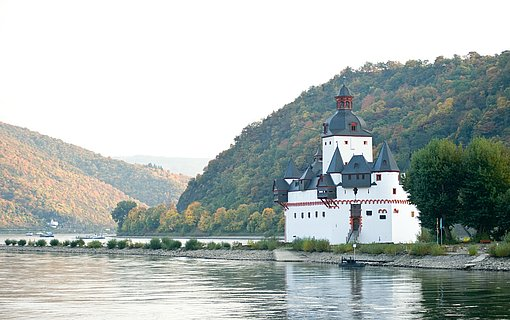 Burg Pfalzgrafenstein bei Kaub, Romantischer Rhein