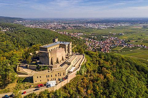 Das Hambacher Schloss - ein Symbol deutscher Demokratiegeschichte