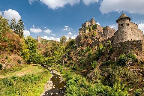 Manderscheider Burgen am Lieserpfad, Eifel