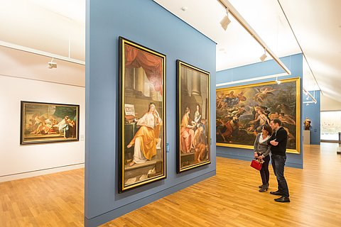 Ausstellungsbesuch im Landesmuseum Mainz, Rheinhessen