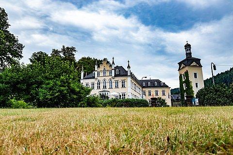 Schloss Sayn in Bendorf-Sayn, Romantischer Rhein