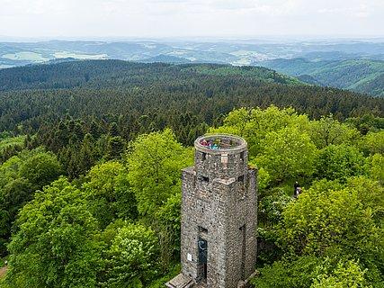 Kaiser-Wilhelm-Turm auf der Hohen Acht bei Adenau, Eifel