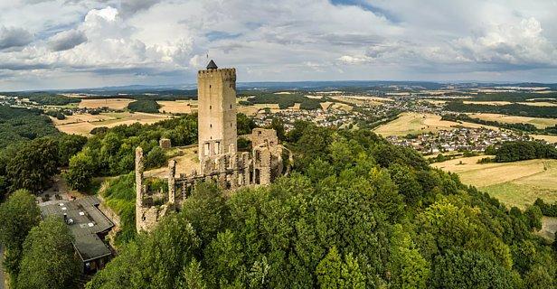 Burg Olbrück, Eifel