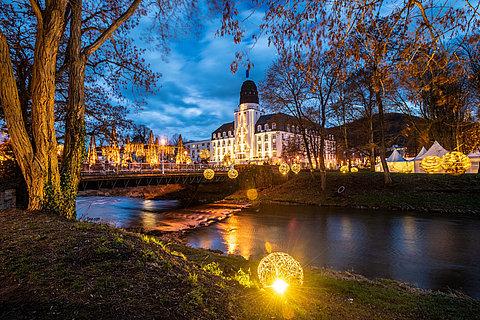 Zauberhafte Uferlichter in Bad Neuenahr-Ahrweiler, Ahrtal