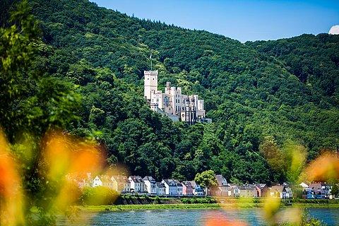 Schloss Stolzenfels bei Koblenz, Romantischer Rhein