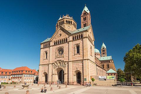 Der Speyerer Dom, Pfalz
