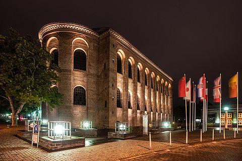 Konstantin-Basilika Trier, Mosel