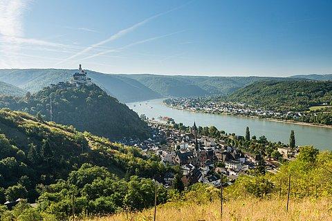 Marksburg bei Braubach, Romantischer Rhein
